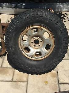 Navara steel rim and tyre Beaconsfield Fremantle Area Preview