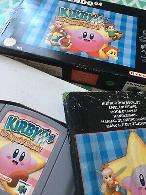 Kirby 64 The Crystal Shards N64 Nintendo Boxed Complete Genuine PAL