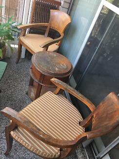 Outdoor Table & Two Chairs