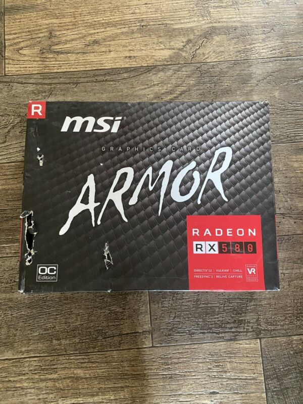 MSI Gaming Radeon Rx 580 256-bit 8GB GDRR5 HDMI/DP DirectX 12 VR Ready Crossfire