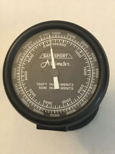 SafeSport Altimeter, up to 15,500 feet or 5,000 meters