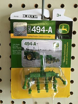 ERTL 1:64 1962 John Deere 494-A 4 Row planter for sale  Shipping to Canada