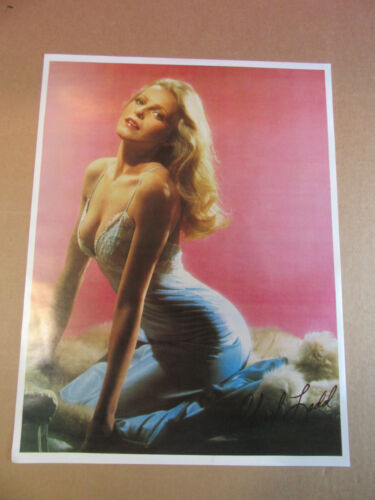 Cheryl Ladd poster lingerie CHARLIES ANGELS 1978 vintage ORIGINAL PIN UP sexy