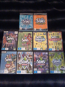 The Sims 2 & 3 for PC (10 Games) Somerton Park Holdfast Bay Preview