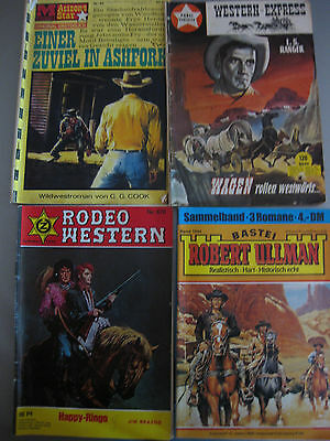 6 St.Westernromane Rodeo Western Arizona-Star Sammelb.Robert Ullmann 678,84,1044