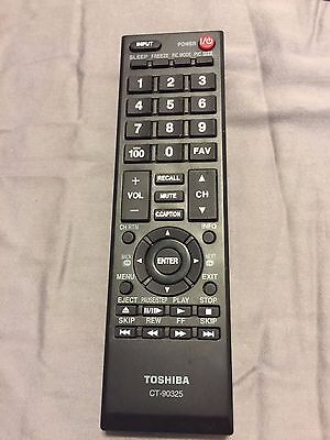 Original Toshiba TV Remote Control CT-90325 32C100U2 32C100UM 32C110U 32DT1 ZAEE