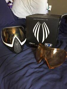 Dye I4 Paintball Mask White/Black