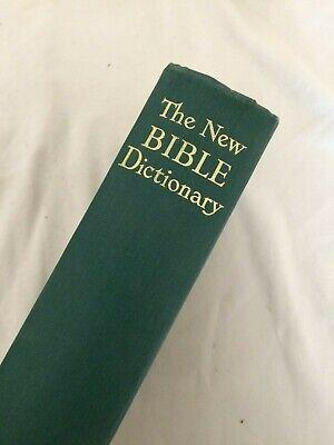 New Bible Dictionary Rockferry High School J D Douglas 1962 Hardback Book #CF-B8
