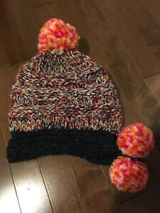 1a9ed73694a Pompom knitted hat