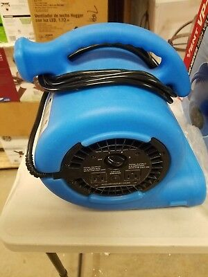 B-air Vent Vp-25 High Velocity Blower Fan 14 Hp 115v Air Mover 3 Speed