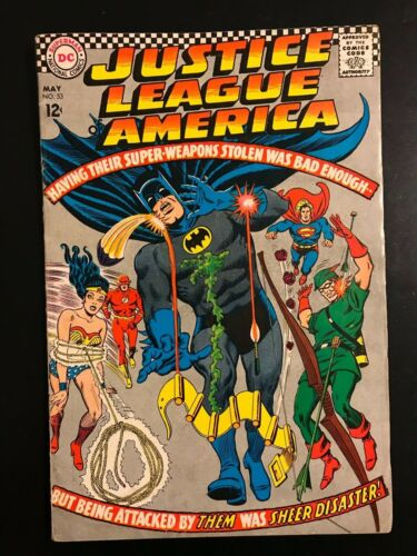 DC Justice League of America #53, 1967!