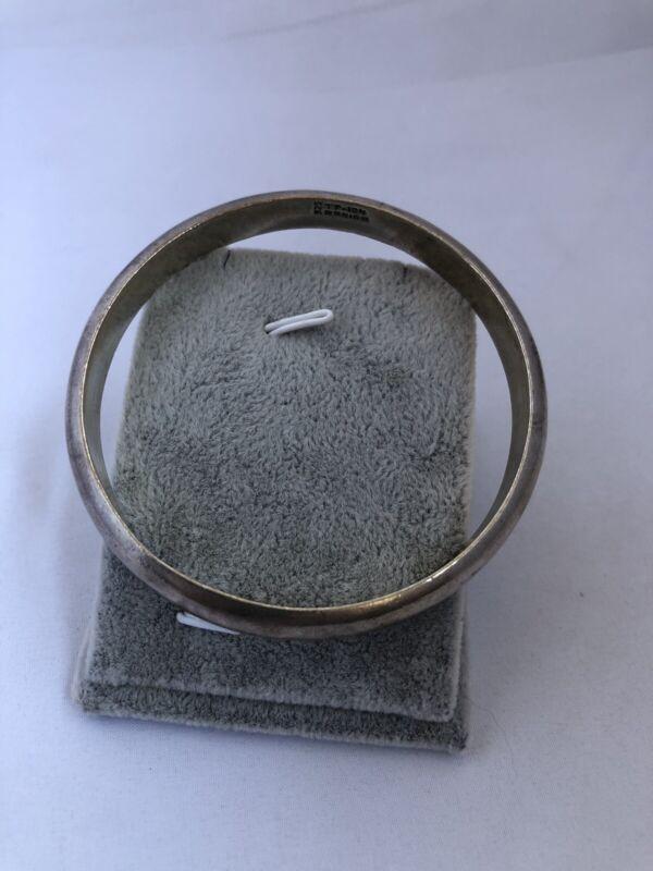 Mexico TP-104 925 Sterling Silver Bangle Bracelet (276)