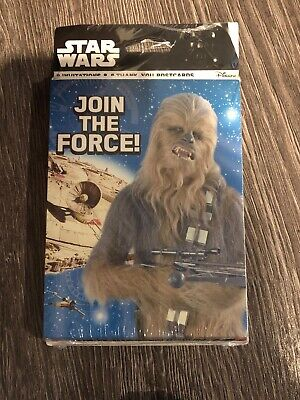 Star Wars Birthday Cards (Star Wars Invitations Join The Force Chewbacca Thank You Cards Birthday)