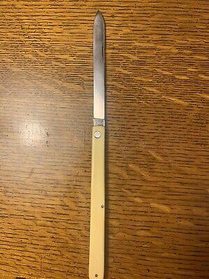 Vintage Schrade Cut Co. Stainless Steel Pocket Knife Walden N.Y.
