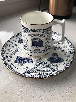 Kirkholme Collectables City Of Sunderland Mug & Plate - Fine Bone China