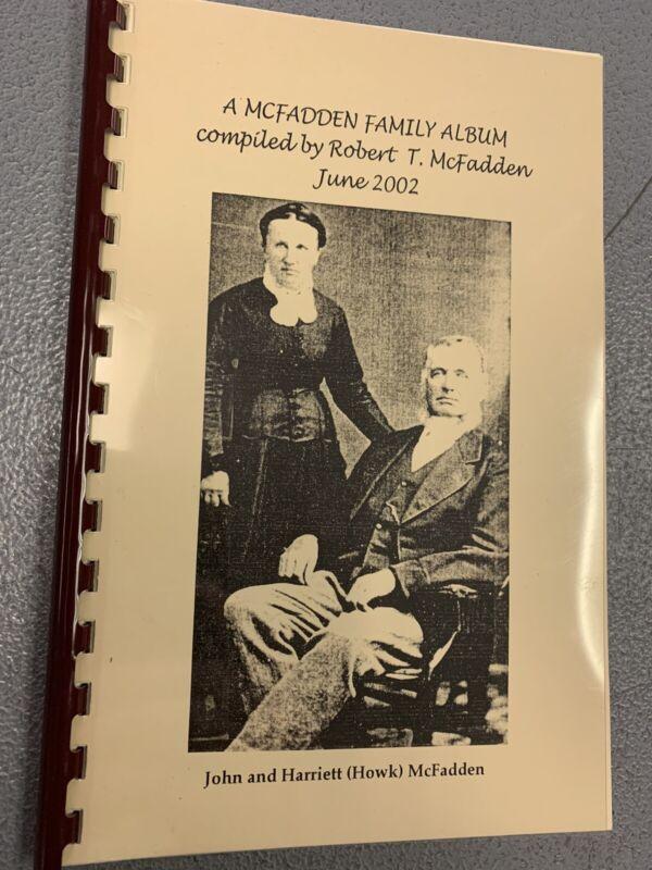 2002 McFadden Family Album Family History Genealogy Booklet