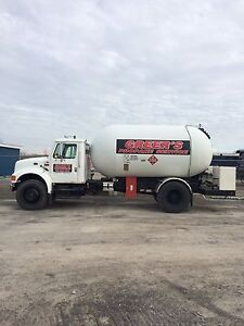 1995 international propane delivery truck