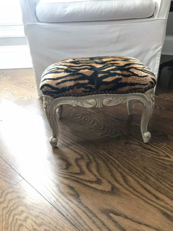 Antique French Small Foot Stool