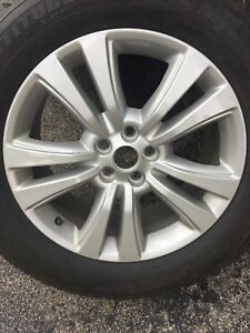 2016-2018 Lincoln MKX Winter Tires on Rims