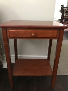 Side table -Cherry finished