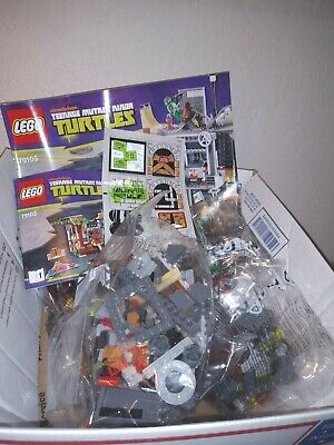 LEGO 79103 TURTLE LAIR ATTACK -TMNT -2013 Retired Set -Sealed Bags No Box -Ninja