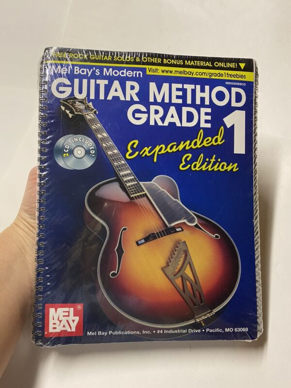 Mel Bay's Modern Guitar Method Expanded Editions Grades 1-7 Spiral Bound Books