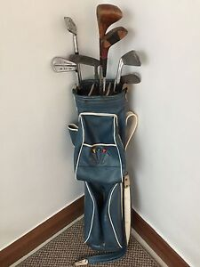 Vintage golf set and bag from the 1960's Various clubs Como South Perth Area Preview