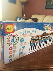 ALEX Toys Gigantic Step & Play Piano (brand new, unopened )