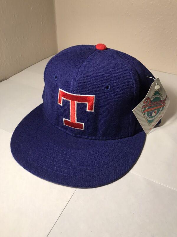 Vintage Texas Rangers New Era hat. 7 1/8. NWT. Diamond Collection. 80s MLB.