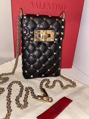 Valentino Garavani Rockstud Spike crossbody wallet / purse / handbag