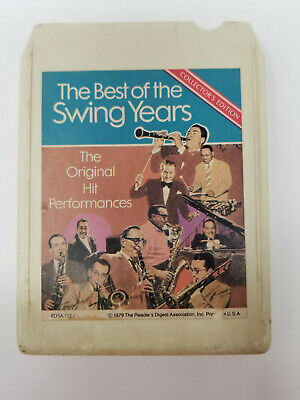 8 Track Tape The Best of Big Band Swing Years Original Hits Collector's