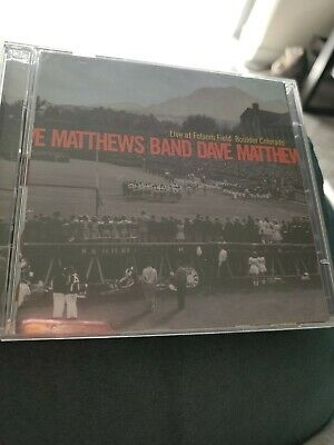 Dave Matthews Band - Live at Folsom Field (2002) - 2 CD (Dave Matthews Band Live At Folsom Field)