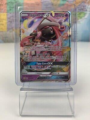 SHIPS SAME DAY Pokemon Card NM Tapu Lele GX Full Art 60a/145 Psychic Type 2018