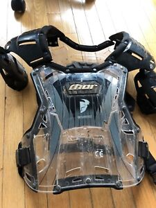 Thor dirt bike chest protector