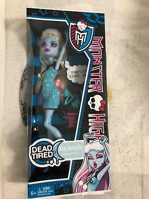 MONSTER HIGH ABBEY BOMINABLE DEAD TIRED