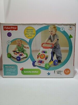 Fisher Price Bright Beginnings Activity Walker Gift Toy Baby Ages 6M+