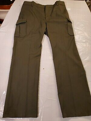 Lion Apparel Mens 42 X 35 Forest Green Pants