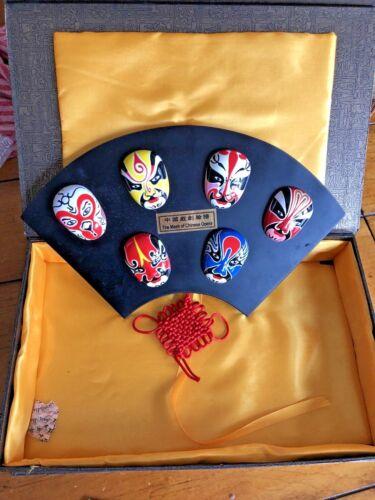 Mask of Chinese Opera Orient Crafts w/Box