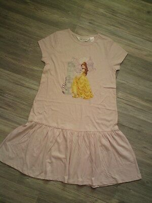 Kleid Disney Princess * H&M Rosa 134 140 *° Neu