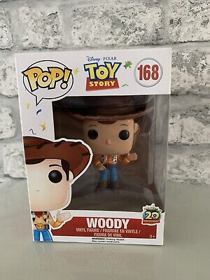 Funko Pop! Woody 168  toy story boxed