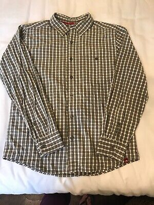 North Face Mens Button Down Shirt S