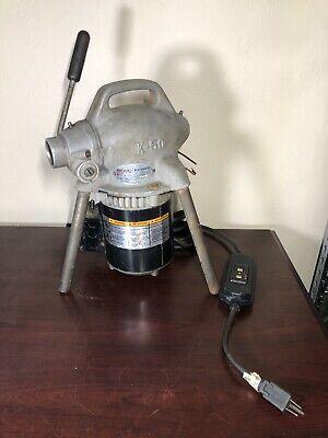 Ridgid-kollmann K-50 Pipe Drain Snake Cleaner Electric Machine Only