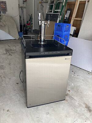 Kegco Kegerator Beer Cold Brew Kombucha Dispenser Mdk-309ss-01