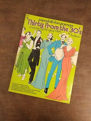 PaperDolls by Tom Tierney Thirty from the 30s Costumes of the Great Stars Unused