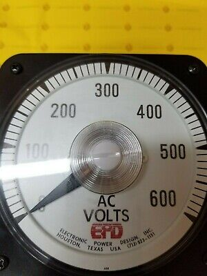 Yokogawa 103021pzsj7p Ac Voltmeter Switchboard