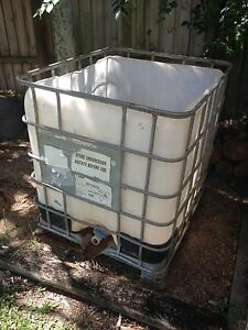 1000L pod or IBC Boondall Brisbane North East Preview