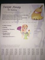 SWEPT AWAY - Cleaning Services