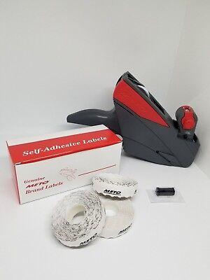 Price Label Gun - Meto 5.16 Value Pack Pricegun Box White Labels Ink Roller
