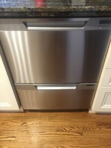 SS Fisher & Paykel Double Drawer Dishwasher