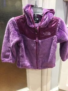 Baby Girls north face jacket 6-12 months
